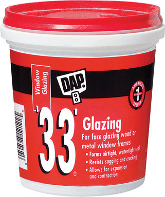 Dap 33 window glazing - puddy-0